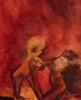 sanenzo-kunst-aquarel-moeder-met-kind