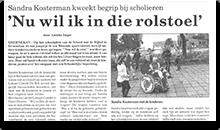 sanenzo belangenbehartiging artikel rolstoel