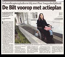 Sanenzo artikel De Bilt voorop met actieplan AD 2006