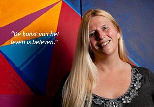 """Sandra Kosterman: """"De kunst van het leven is beleven."""""""
