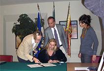 Sanenzo ondertekening verdrag Verona charter