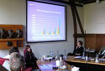 Sanenzo: presentatie bij gemeente De Bilt
